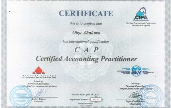 Certified Accounting Practitioner